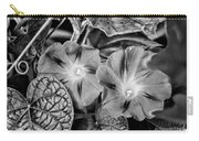Morning Glory - Bw Carry-all Pouch