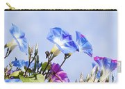 Morning Glory Flowers Carry-all Pouch
