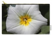 Morning Glory Named White Ensign Carry-all Pouch