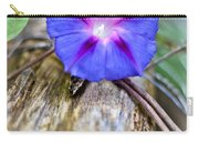 Morning Glory On The Fence Carry-all Pouch