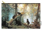 Morning In A Pine Forest Carry-all Pouch by Ivan Shishkin