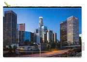 Morning In Los Angeles Carry-all Pouch by Inge Johnsson