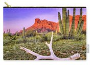 Morning In Organ Pipe Cactus National Monument Carry-all Pouch