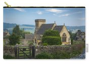 Morning In Snowshill Carry-all Pouch
