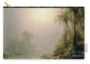 Morning In The Tropics Carry-all Pouch by Frederic Edwin Church