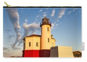 Morning Light At Coquille River Lighthouse Carry-all Pouch