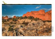 Morning Light At Garden Of The Gods Carry-all Pouch