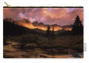 Morning Light Maligne Pass Carry-all Pouch