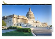 Powerful - Washington Dc Morning Light On Us Capitol Carry-all Pouch