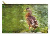 Morning Mallard Carry-all Pouch