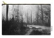 Morning Mist In Monochrome Carry-all Pouch