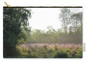 Morning Mist In The Pasture Carry-all Pouch