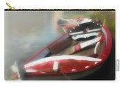 Morning Mist On The Arno River Italy Carry-all Pouch