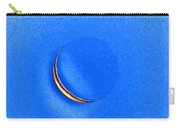 Morning Moon Blue Carry-all Pouch