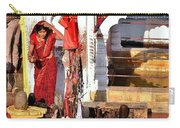Morning Offerings - Narmada River Source - Amarkantak India Carry-all Pouch