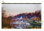 Morning On Boathouse Row Carry-all Pouch