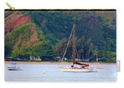 Morning On Hanalei Bay Carry-all Pouch