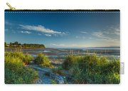 Morning On The Beach Carry-all Pouch by Randy Hall