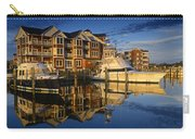 Morning On The Docks Carry-all Pouch