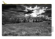 Morning On The Farm Two Bw Carry-all Pouch