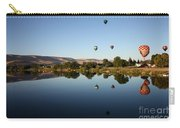 Morning On The Yakima River Carry-all Pouch by Carol Groenen