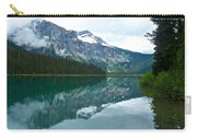 Morning Reflection In Emerald Lake In Yoho National Park-british Columbia-canada Carry-all Pouch