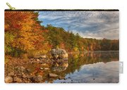 Morning Reflection Of Fall Colors Carry-all Pouch