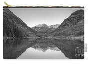 Morning Reflections Bw Carry-all Pouch