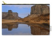 Morning Reflections In Monument Valley Carry-all Pouch
