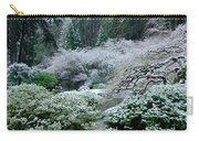 Morning Snow In The Garden Carry-all Pouch