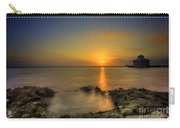 Morning Sun Rising In The Grand Caymans Carry-all Pouch by Dan Friend