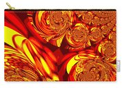 Moroccan Lights - Orange Carry-all Pouch