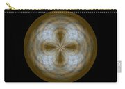 Morphed Art Globe 24 Carry-all Pouch