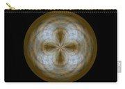 Morphed Art Globe 24 Carry-all Pouch by Rhonda Barrett