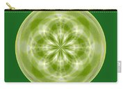 Morphed Art Globe 27 Carry-all Pouch by Rhonda Barrett