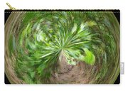 Morphed Art Globe 3 Carry-all Pouch by Rhonda Barrett
