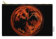 Morphed Art Globe 37 Carry-all Pouch