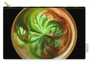 Morphed Art Globes 16 Carry-all Pouch by Rhonda Barrett