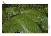 Morpho Butterfly In Rainforest Ecuador Carry-all Pouch