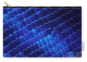 Morpho Butterfly Scales Carry-all Pouch