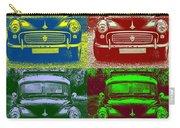 Morris Car In Pop Art Carry-all Pouch