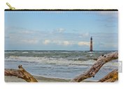 Morris Island Light With Driftwood Carry-all Pouch