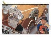 Morris Major 6 - Vintage Car Poster Carry-all Pouch
