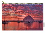 Morro Bay On Fire Carry-all Pouch
