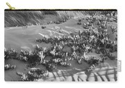 Morro Beach Textures Bw Carry-all Pouch