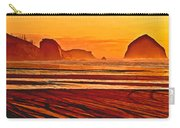 Morro Rock Painting Carry-all Pouch