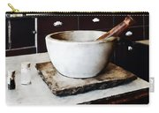 Mortar And Pestle In Apothecary Carry-all Pouch