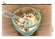Mortar And Pestle With Drugs Carry-all Pouch