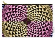 Mosaic Circle Symmetric  Carry-all Pouch
