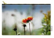 Mosaic Flower Carry-all Pouch